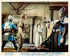 SIEGE OF THE SAXONS JANETTE SCOTT RONALD LEWIS 8X10 ORIGINAL BRITISH LOBBY CARD