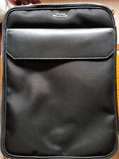 Versace Trolley Valigia borsa pelle Bagaglio a mano Uomo con ruote VERSACE NUOVO