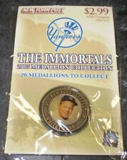 2005 New York Post The Immortals Medallion New York Yankees Whitey Ford #16