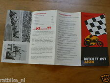 1977 FLYER DUTCH TT ASSEN 1977 GRAND PRIX,MOTO GP