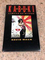 Kabuki Circle of Blood Signed David Mack Caliber Comics