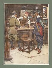 Fishing Interest - 1911 Print - John Stubs' Fishing Tackle Shop - James Thorpe