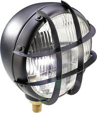 Scheinwerfer Scrambler Enduro Brat style oldschool Bobber headlight Schutzgitter