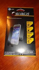 AT&T GALAXY S 5  ZAGG INVISIBLE SHIELD DRY SERIES FULL BODY SCRATCH PROTECTION