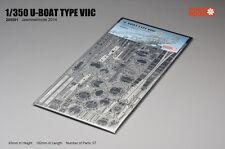 Jasmine Model 1/350 205001 German U-boat Type VIIC Submarine Skeleton