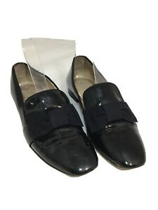 HOBBS Ladies Slip On Loafers With Bow Tie Accessories - Size UK3/EU36