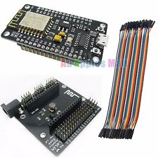ESP8266 NodeMcu Lua Wifi IOT Development Board + NodeMcu Base 20CM Female Kable