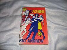 CASINO PAT ANDREW SIGNED 1974 1ST EDITION AUSTRALIAN VERY RARE  P/B