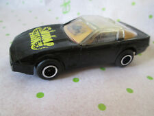 1994 Majorette 1:64 Black Chevrolet Corvette 3D Swamp Thing Car #103 (Mint)