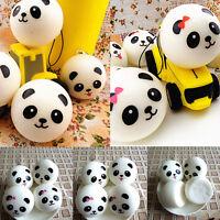 1X Jumbo Panda Squishy Bread Soft Buns Cell Phone Straps Pendant Cute Gift Kids