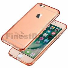 Hybrid 360° New Shockproof Case TPU Gel Skin Cover For Apple iPhone 8 7 5s 6s SE