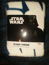 Star Wars Millennium Falcon Space Ship Plush Throw Blanket 46 x 60