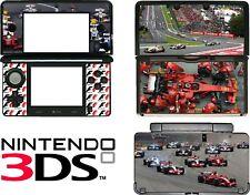 Nintendo 3DS N3DS F1 FORMULA 1 Vinyl Decal Sticker