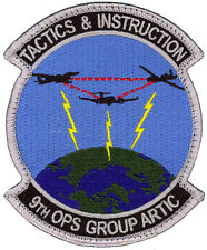 USAF 9th OPERATIONS GROUP A.R.C.T.I.C. - TACTICS & INSTRUCTION PATCH