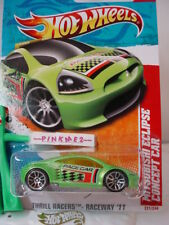 Case P 2011 Hot Wheels MITSUBISHI ECLIPSE CONCEPT CAR #221∞green∞Pace