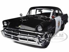 1956 MERCURY MONTCLAIR POLICE CAR 1/18 DIECAST MODEL CAR BY SUNSTAR 5146