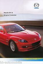 MAZDA rx-8 accessorio PROSPEKT 1/06 brochure 2006 AUTO AUTOMOBILI AUTO prospetto opuscolo
