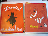 (16) VINTAGE MUSICAL AND SHOW SOUVENIR PROGRAMS - SEE THE LIST -  RH-3