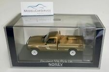 "Norev 1/43: 475457 Peugeot 504 Pick up 4x4 Dangel (1985) ""California"", beigemet."