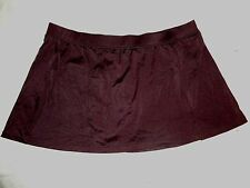 ONE PEICE Jamaica Bay brown BIKINI swimsuit (BOTTOM/SKIRT ONLY) WOMENS SIZE: 16