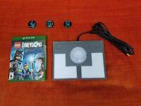 Lego Dimensions Starter Pack + Batman + Gandalf + Wildstyle Xbox One - No Legos