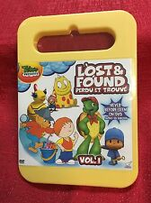Lost And Found - Vol. 1 Treehouse Bilingual New Sealed DVD 60 Minute Of Cartoons