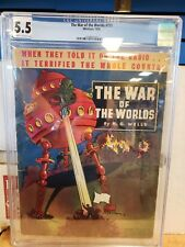 The War of the Worlds #711 Whitman 1938 CGC 5.5  Only graded copy!