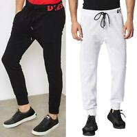 DIESEL P MOONS Mens Cuffed Joggers Jogging Tracksuit Bottoms Jersey Sweatpants