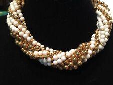"LES BERNARD.  Multi (10) Strand Necklace.  ---18""--Vintage"