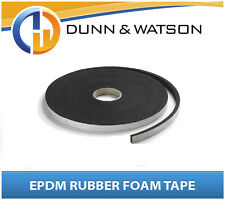 6mm Thick x 12mm Wide x 15 Meter Roll - Neoprene Foam Tape - Camper Trailer