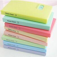 Candy Color Portable Lomo Card Holder Photocard Book Card Stock Photo Album