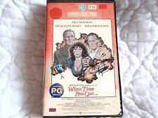 WHEN TIME RAN OUT VHS ACTION LONG VERSION PAUL NEWMAN JACQUELINE BISSET VOLCANO