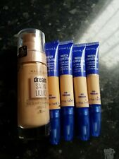 Rimmel Match Perfection Concealer x4 plus maybelline dream satin liquid