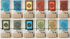 5 PC Mandala Wholesale Lot Wall Hanging Tapestry Cotton Poster Bulk 40 30 Hippie