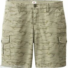 MICHAEL BASTIAN x UNIQLO 'Camouflage' Cargo Shorts Men's M Olive Camo **NEW**
