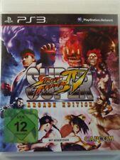 !!! PLAYSTATION ps3 jeu Super Street Fighter IV Arcade d'occasion, mais bien!!!