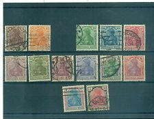 """GERMANIA - GERMANY DEUTSCHES REICH 1920/1921 """"Germania"""" Common Stamps"""
