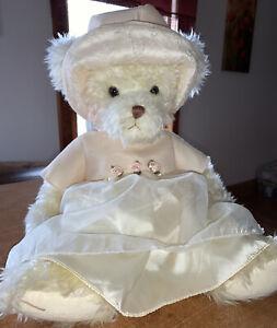 "Russ Bear Sheer Inspiration Collection PHEOBE 18"" Handmade Stuffed Plush"