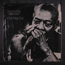 SONNY BOY WILLIAMSON: One Way Out LP (cut corner, shrink) Blues & R&B