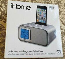 iHome iH22 Dual Alarm Clock Speaker System for iPod NEW
