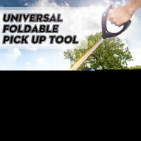Foldable Long Stick Drive Magnetic Handy Reacher Grabber Mobility Pick up Tool