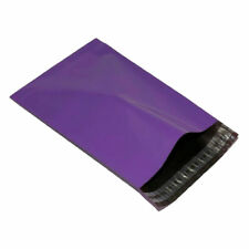 "100 PURPLE 9"" x 12"" Mailing Mail Postal Parcel Packaging Bags 230x305mm"