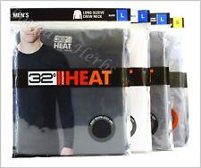 Men's 32 Degree Heat Base Layer Long Sleeve Crew Neck New Free Shipping