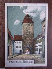 Erster Weltkrieg (1914-18) frankierte Ansichtskarten aus Bayern