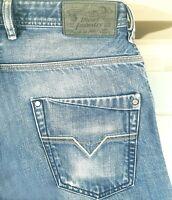*HOT AUTHENTIC Men's DIESEL @ KROOLEY Art 802D - Slim CARROT Denim Jeans 31 x 32