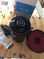 Tokina AT-X 300 / 300mm-f2.8  Nikon Fit