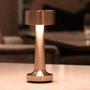 Table Lamp USB Nightstand Desk Lamp Bedroom Living Room LED Lighting Decor