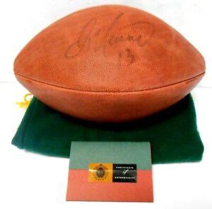 Dan Marino Upper Deck UDA Signed Auto Autographed NFL Football ball Dolphins HOF