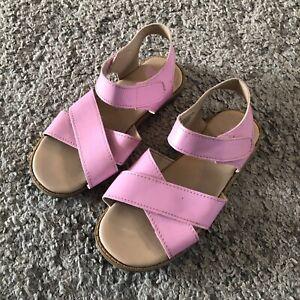 H&M Girls Pink Sandals Size 28