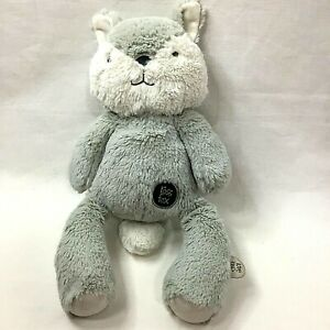 Ross Fox Smiling 40cm Super Plush, Weighted Arms Feet and Tummy, Identity Tag